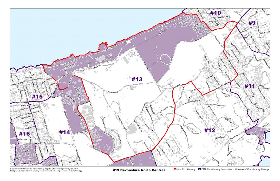 Constituency 13 – Devonshire North Central