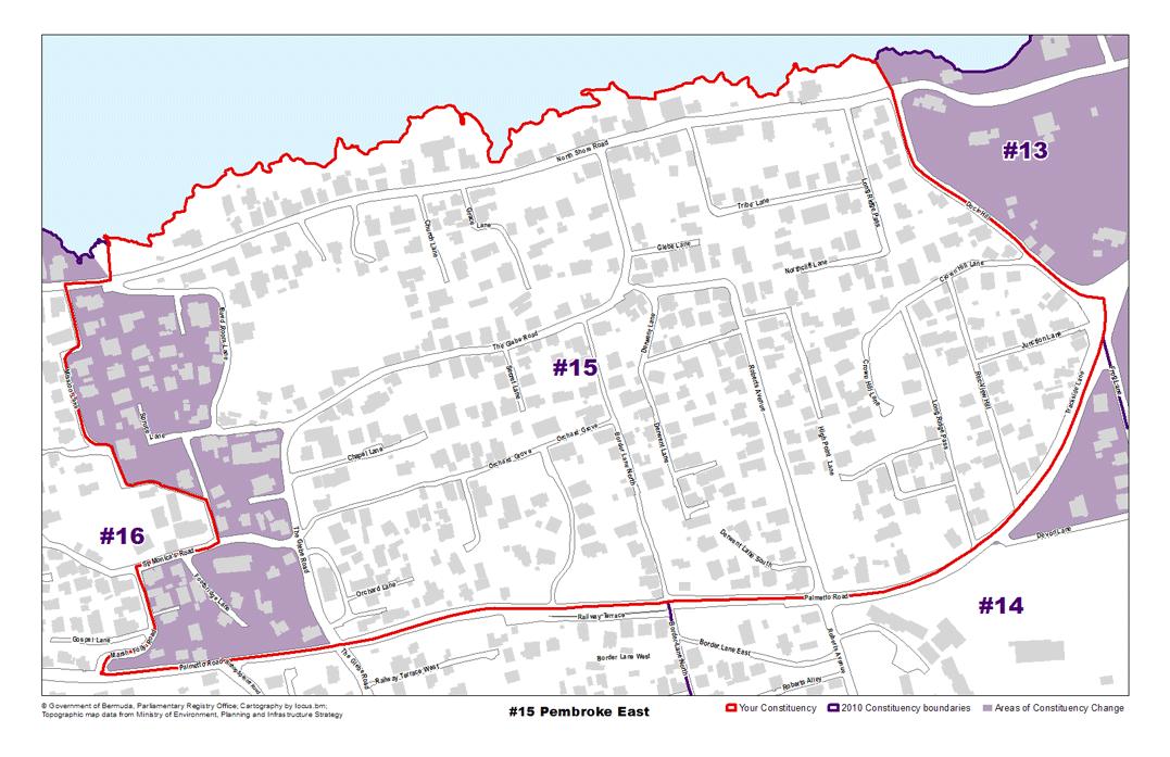 Constituency 15 – Pembroke East