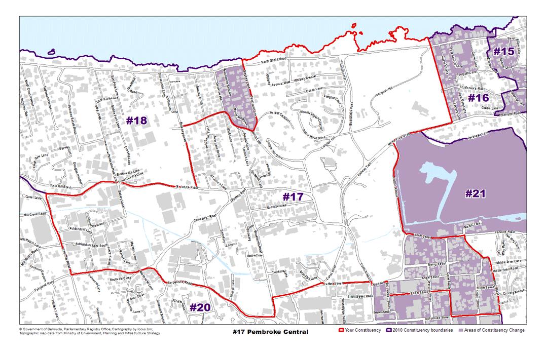 Constituency 17 – Pembroke Central