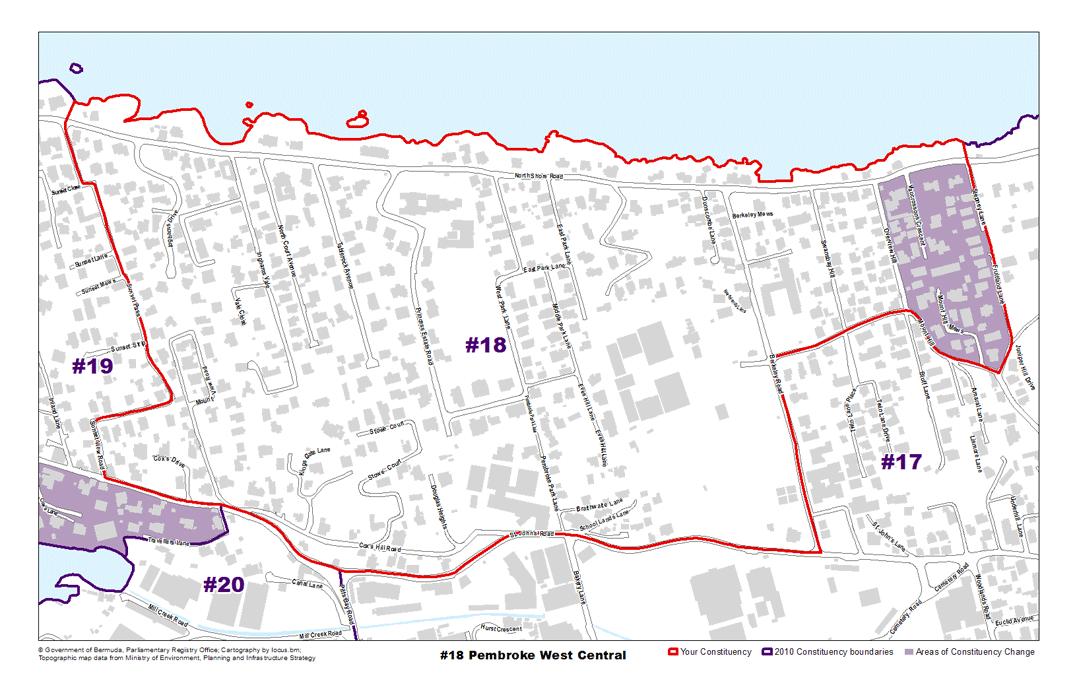 Constituency 18 – Pembroke West Central