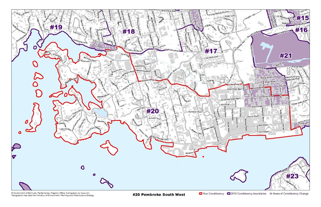 Constituency 20 – Pembroke South West