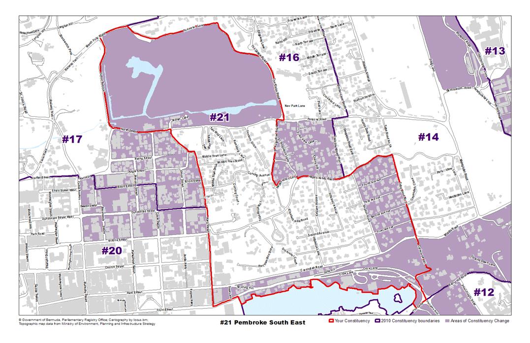 Constituency 21 – Pembroke South East
