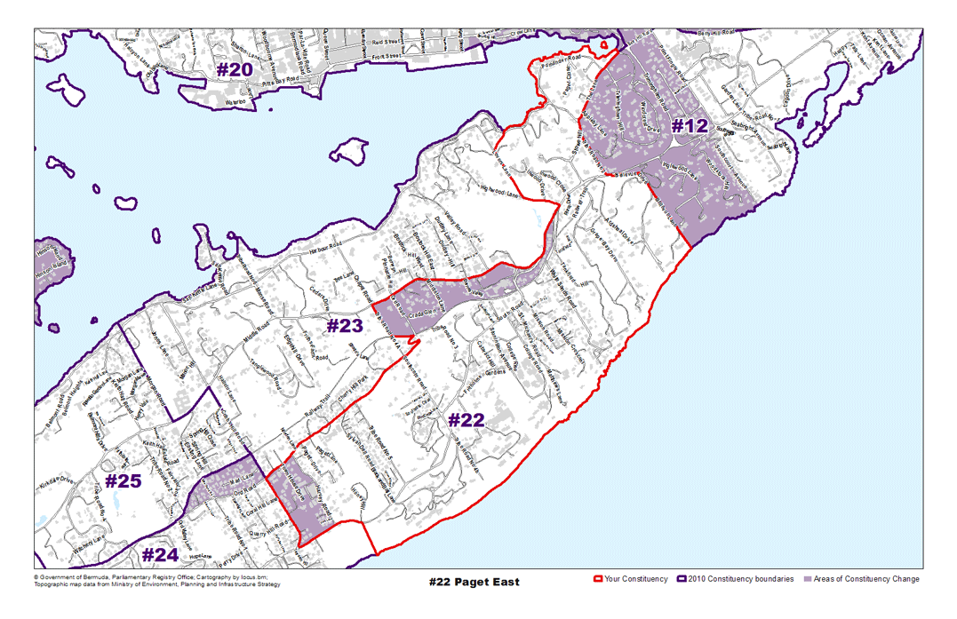 Constituency 22 – Paget East