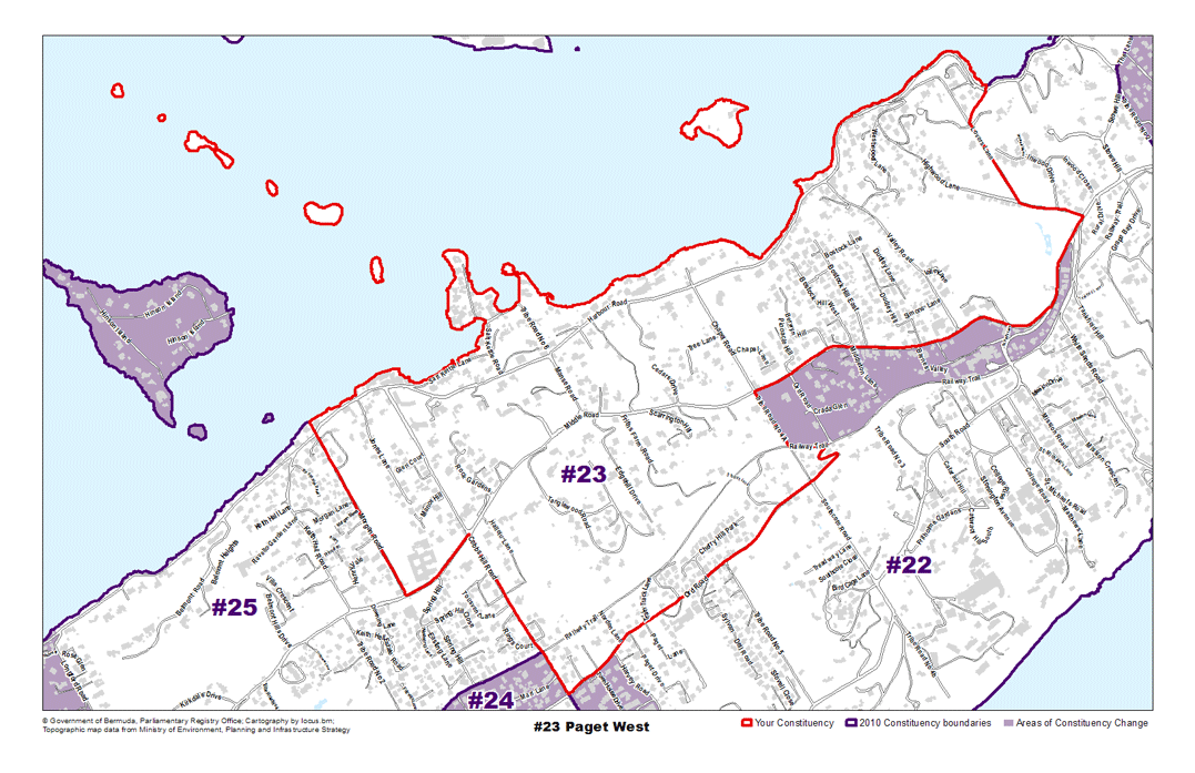 Constituency 23 – Paget West
