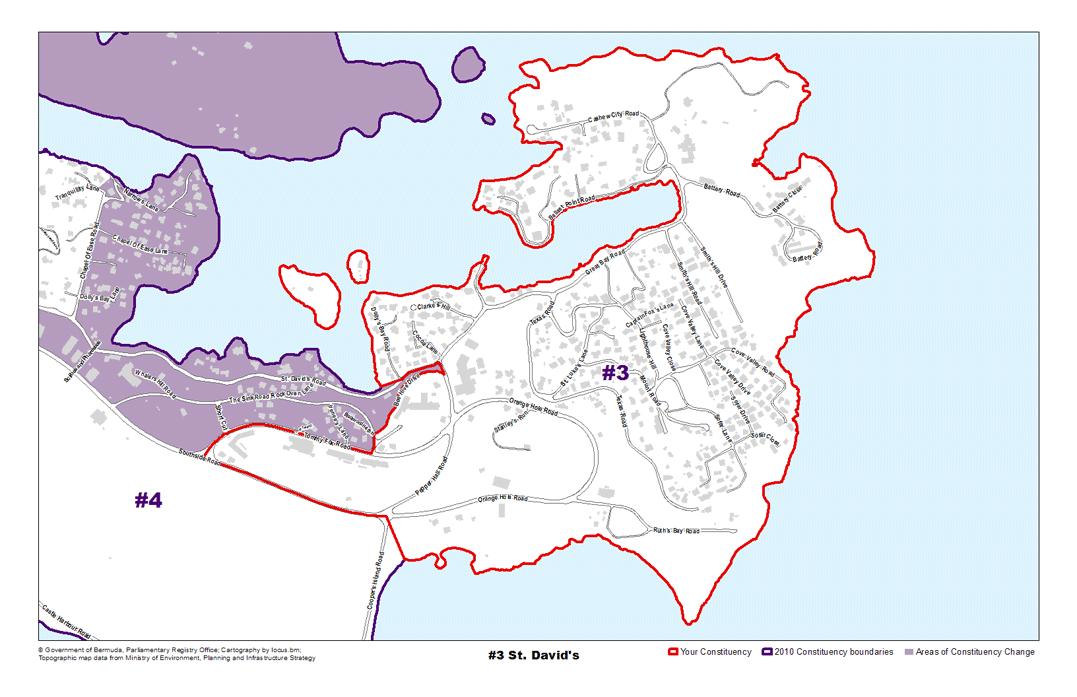 Constituency 3 – St. David's