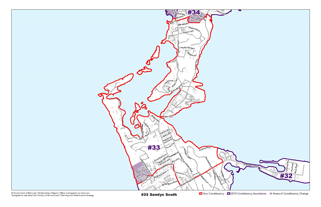 Constituency 33 – Sandys South