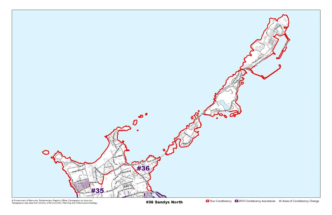 Constituency 36 – Sandys North