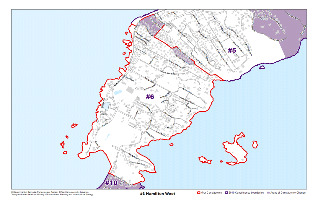 Constituency 6 – Hamilton West