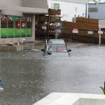 Car Flooded Market Lane Bermuda June 15 2012 (2b)
