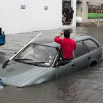Car Flooded Market Lane Bermuda June 15 2012 (3)