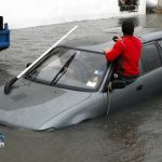 Car Flooded Market Lane Bermuda June 15 2012 (7)