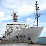 US NOAA Research Ship Ronald H Brown In St Georges Bermuda August 29 2012 (4)