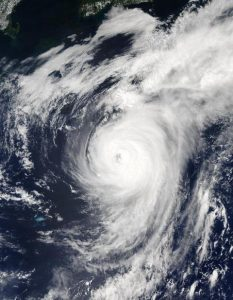 NASA imagery of Hurricane Fabian, Sept. 2, 2003