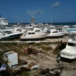 Boats in Dockyard Bermuda for Hurricane Leslie September 6 2012 (10)