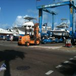 Boats in Dockyard Bermuda for Hurricane Leslie September 6 2012 (11)