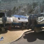 Boats in Dockyard Bermuda for Hurricane Leslie September 6 2012 (4)