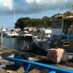 Boats in Dockyard Bermuda for Hurricane Leslie September 6 2012 (7)