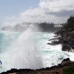 South Shore Waves Pre Hurricane Leslie Bermuda  Sept 6 2012 (1)