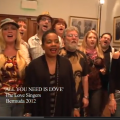 "Music Video: ""All You Need Is Love"""
