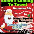 Santa Claus To Visit St George's On Dec. 8