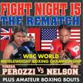 Perozzi v Nelson Fight Ends In Another Draw