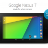 Google Announces New Nexus 7 Tablet