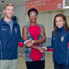 Bermuda's Olympic Swimmers Return To Island