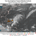 Low Pressure System Brewing In Atlantic