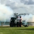 Video: Gun Salute Celebrates New Royal Baby