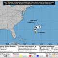 Andrea Weakens To A 'Remnant Low'