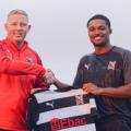 Darlington FC Sign Bermuda's Justin Donawa
