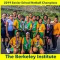 Berkeley Wins BSSF Senior School Netball Title