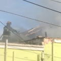 Video: BFRS Respond To Fire In Hamilton