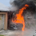 Video: BFRS Extinguish Vehicle Fire In Smiths