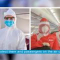 Video: 'Taking Off' On Covid-19 Precautions