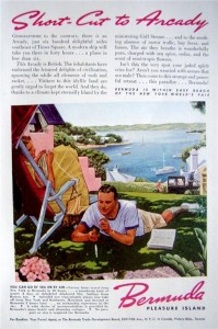 BERMUDA TOURISM ADVERT -1939
