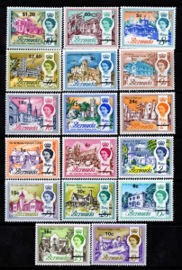 bermuda stamps queen
