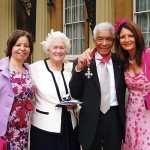 credit basmagm.com cbe ceremony wife Barbara, and two daughters Jane and Serena,