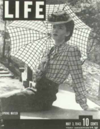 On the cover of the May 3, 1943 issue of Life Magazine