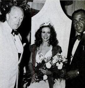 Ms Hollis with Governor Leather and Wentworth Christopher