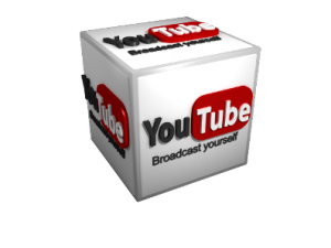 3d youtube icon