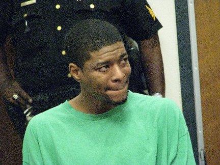 Andre Trott in court. Credit: Tom Haydon/The Star-Ledger