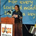 bermuda jenny desilva autism speech