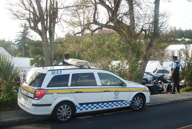 bermuda police funeral