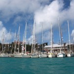 ARCE10 - Bermuda - General - all boats in YC from sea1 640x432