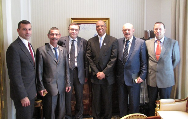 Thomas Dunston, Mikhail Petuknov, Alexander Kuldonov, Premier Brown, Youri Belikh, Nikolay Antonov