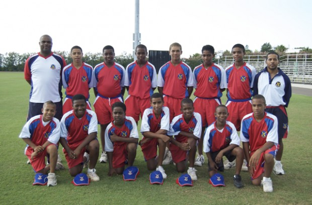 under 13 bermuda cricket 2010