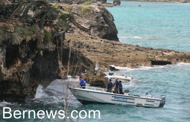 bermuda marine police caves