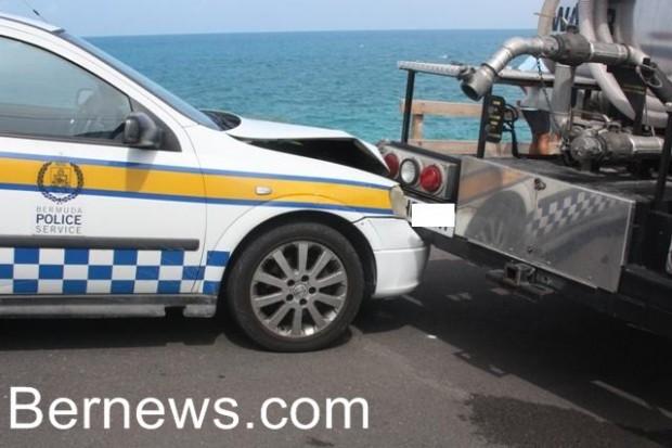 bermuda police water truck 2010