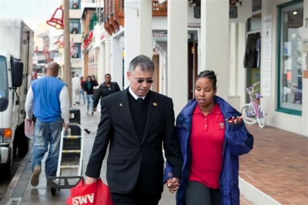 Minister De Silva and Kristina Bean